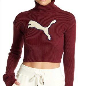 NWT Fenty PUMA long sleeve turtleneck sweater